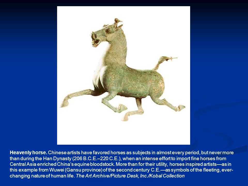 Heavenly horse.