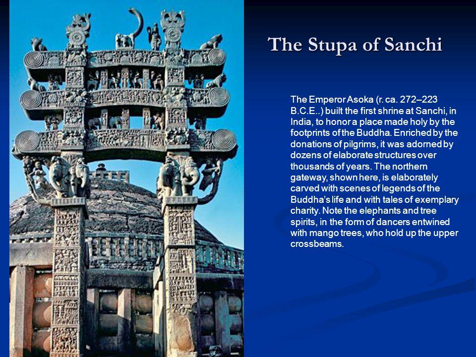 The Stupa of Sanchi