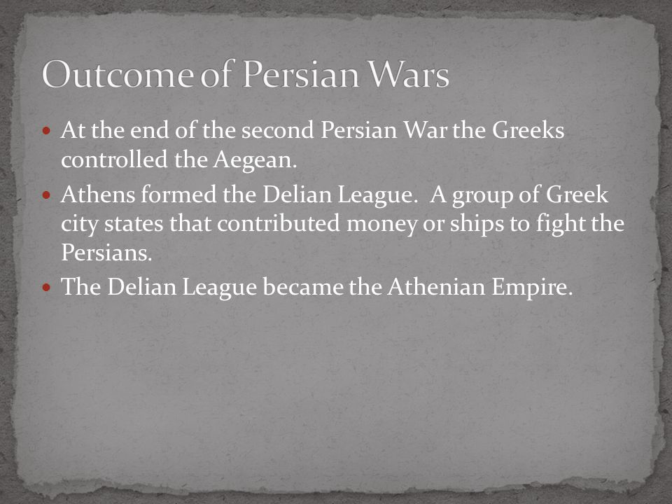 Delian league to athenian empire essay