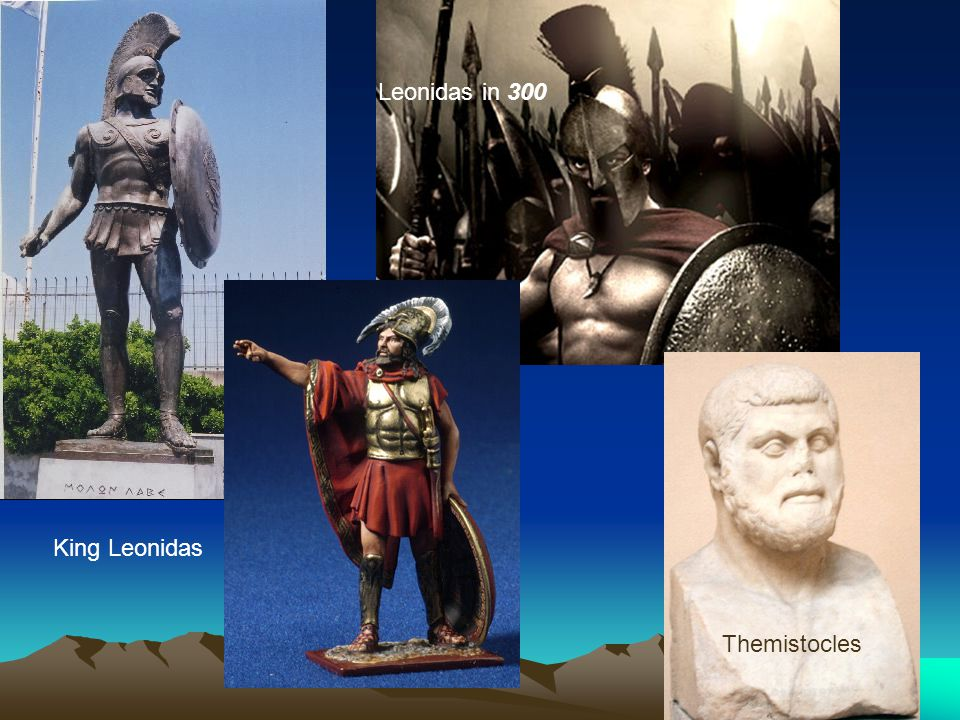Leonidas in 300 King Leonidas Themistocles