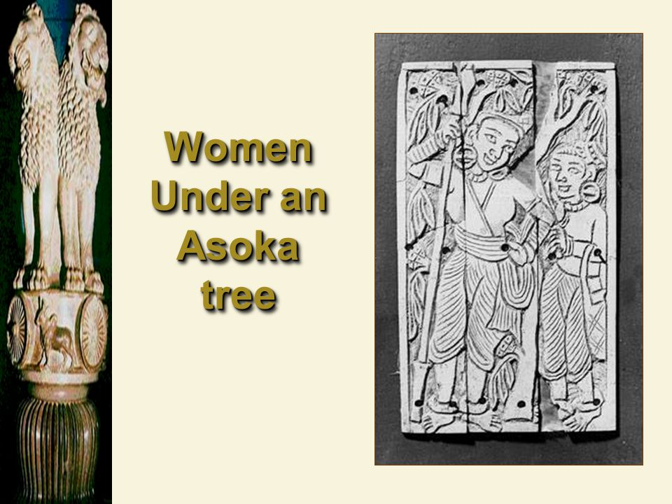 Women Under an Asoka tree