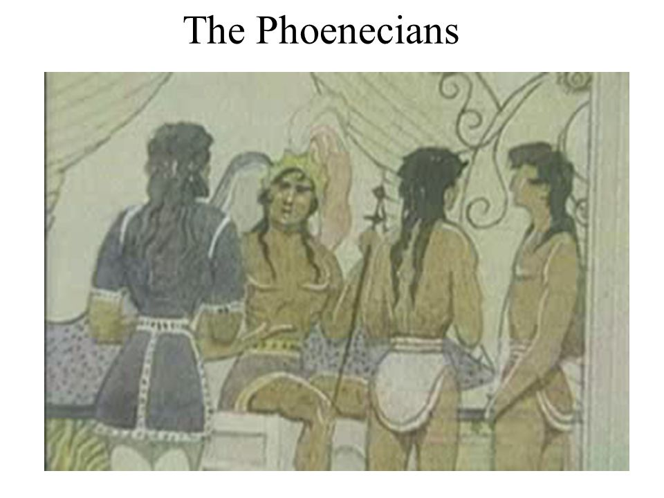 The Phoenecians