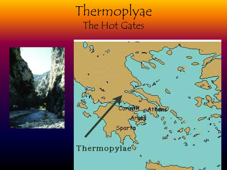 Thermoplyae The Hot Gates