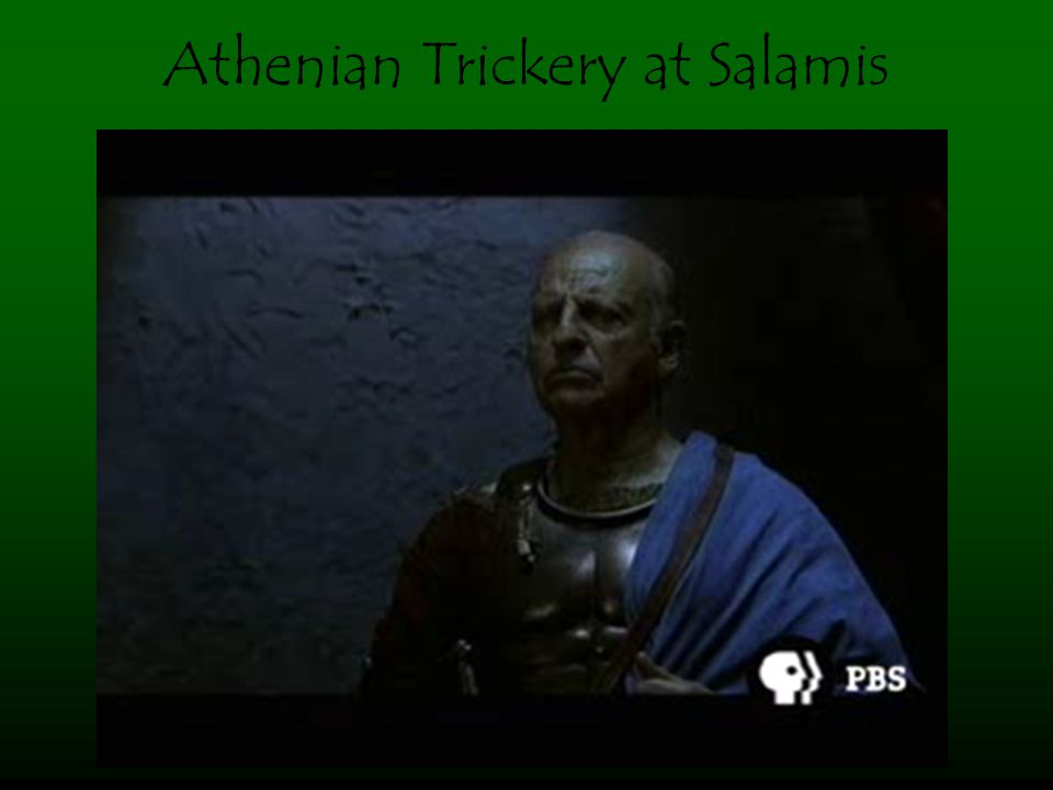 Athenian Trickery at Salamis
