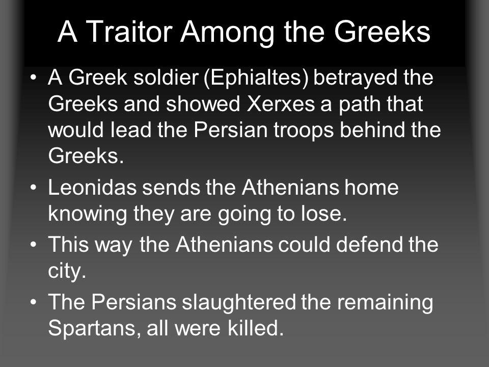 A Traitor Among the Greeks