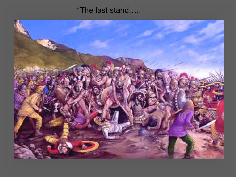 The last stand…..