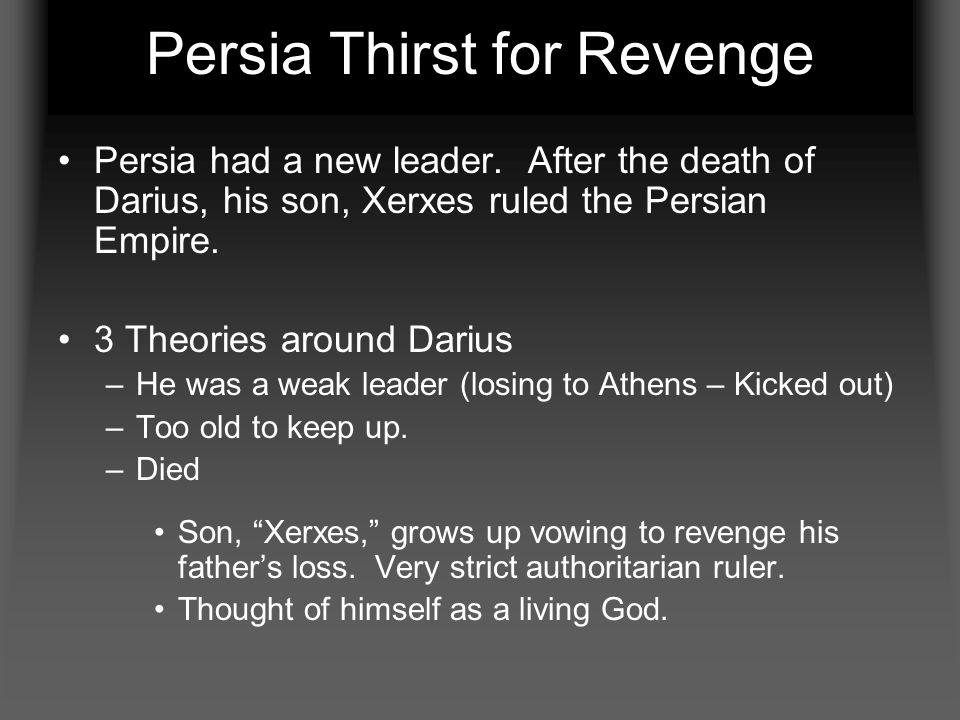 Persia Thirst for Revenge