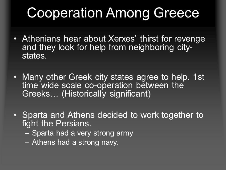 Cooperation Among Greece