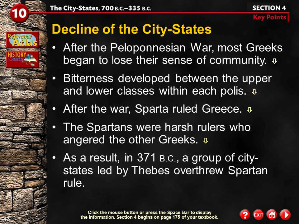 Decline of the City-States