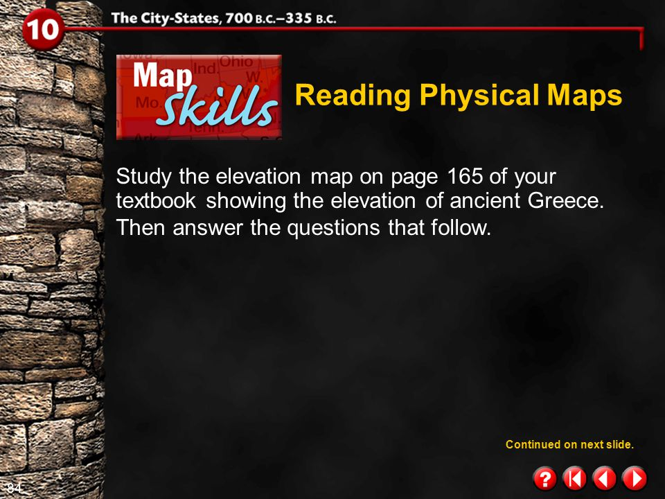 Reading Physical Maps