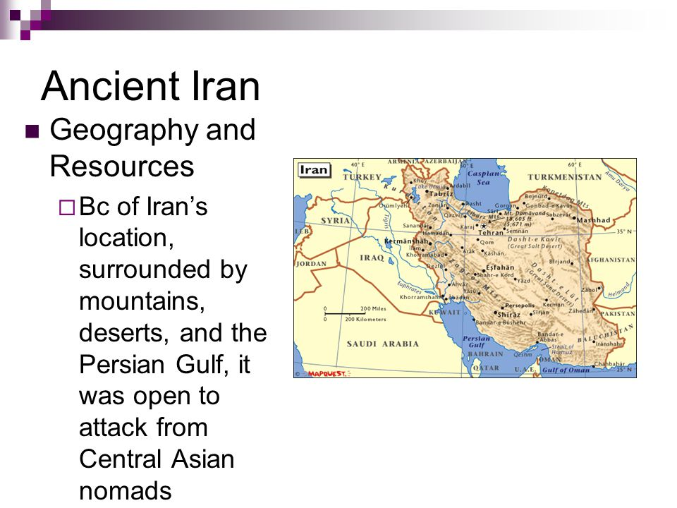 Ancient Iran Geography and Resources
