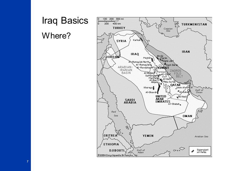Iraq Basics Where