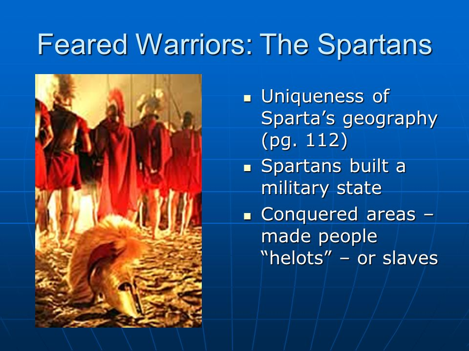 Feared Warriors: The Spartans