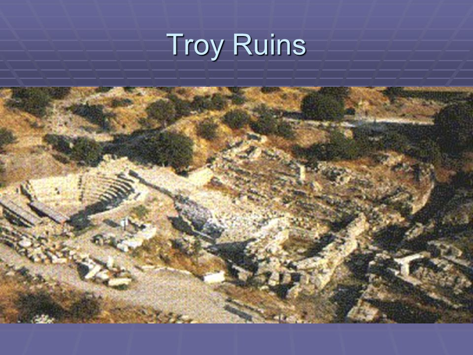 Troy Ruins