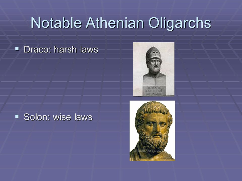 Notable Athenian Oligarchs