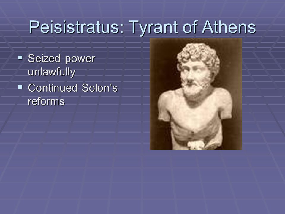 Peisistratus: Tyrant of Athens