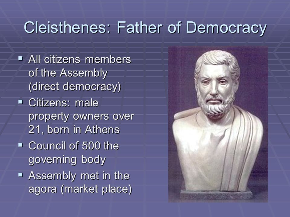Cleisthenes: Father of Democracy