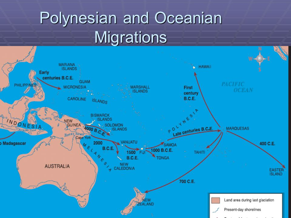 Polynesian and Oceanian Migrations