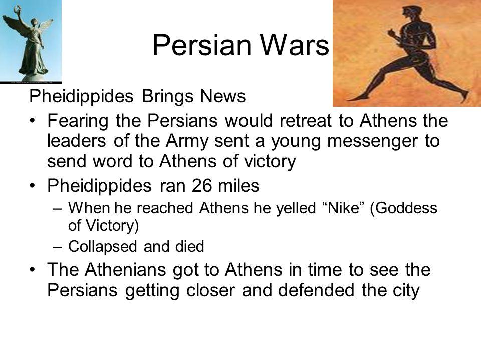 Persian Wars Pheidippides Brings News