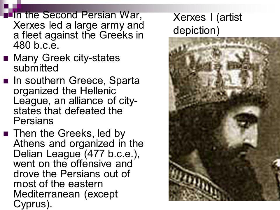 Xerxes I (artist depiction)