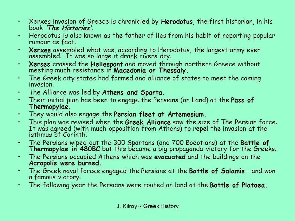 J. Kilroy ~ Greek History