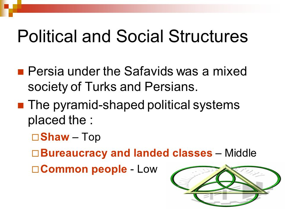Political and Social Structures