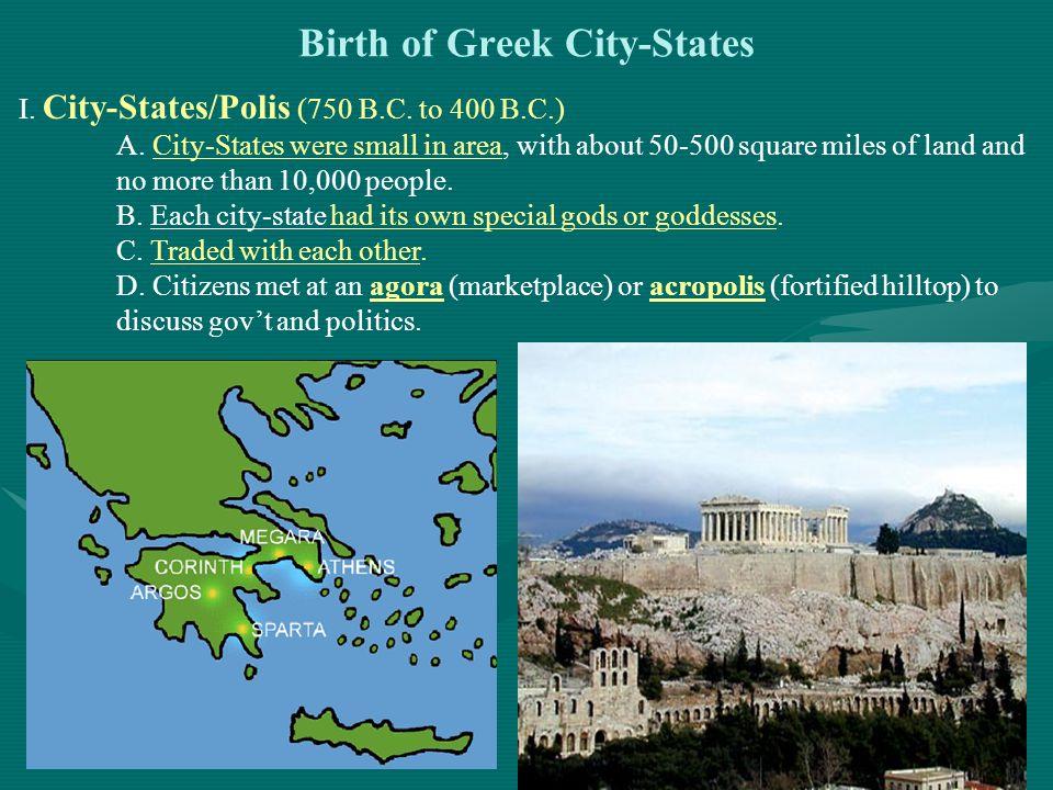 Birth of Greek City-States