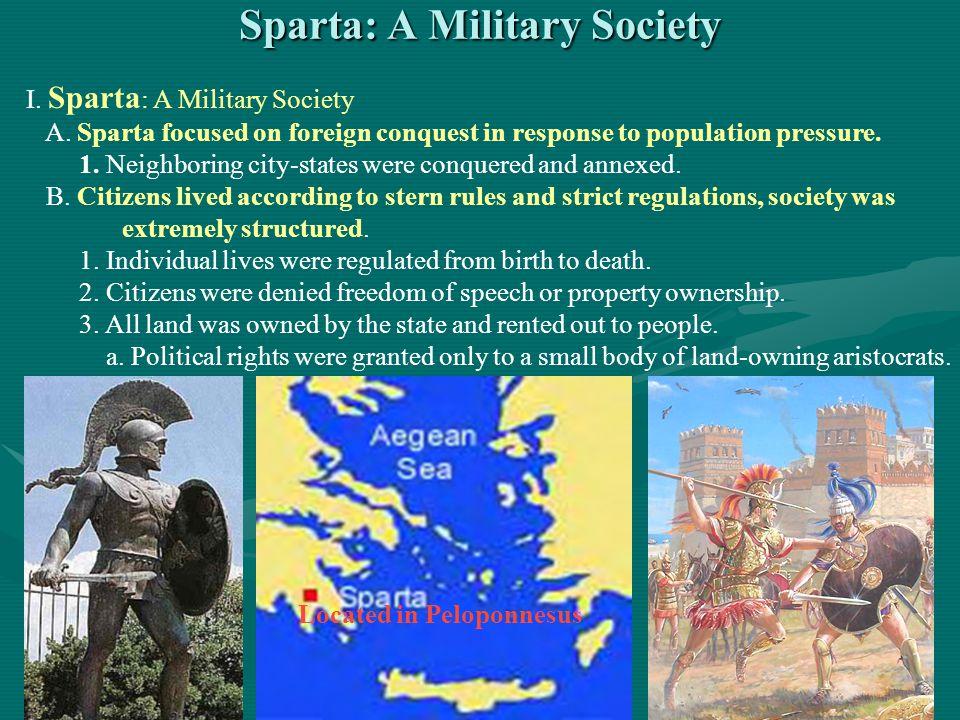 Sparta: A Military Society