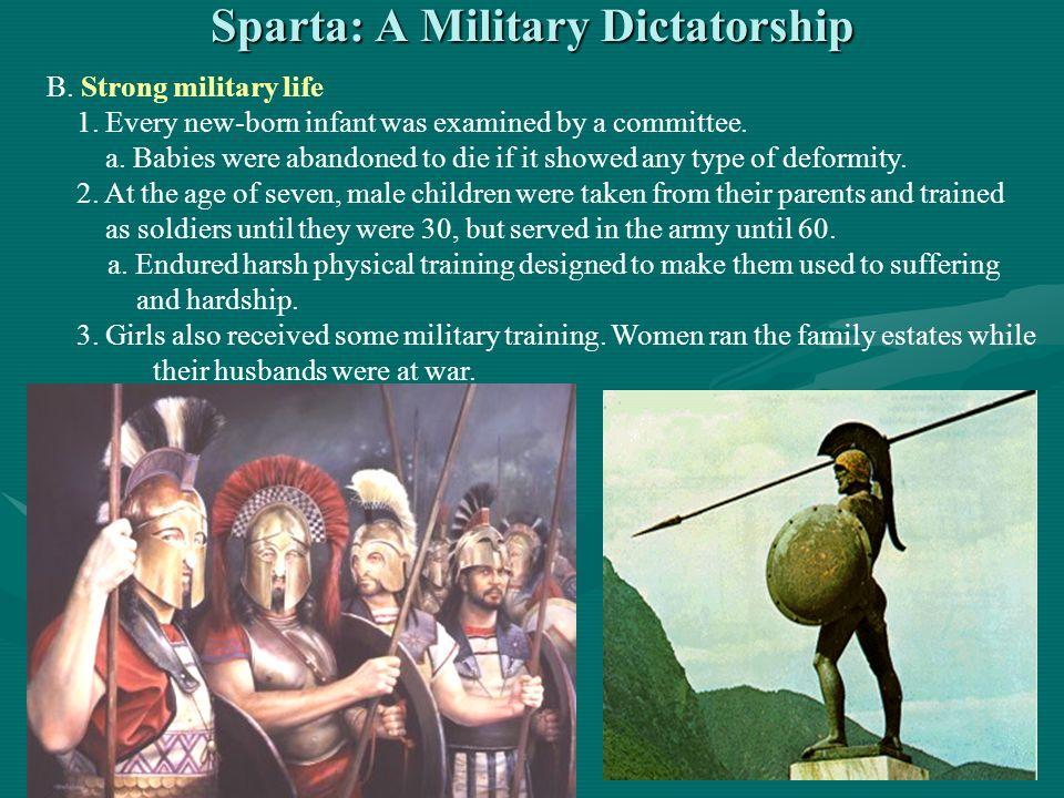Sparta: A Military Dictatorship