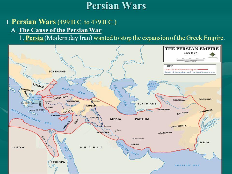 Persian Wars I. Persian Wars (499 B.C. to 479 B.C.)