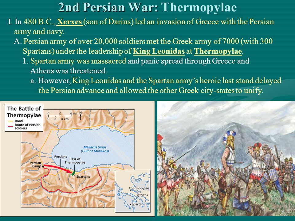 2nd Persian War: Thermopylae
