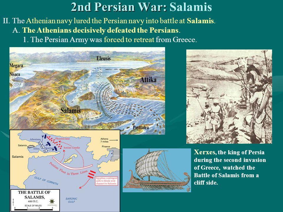 2nd Persian War: Salamis