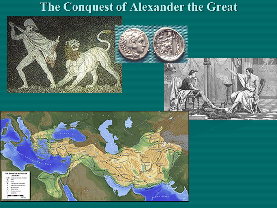 The Conquest of Alexander the Great