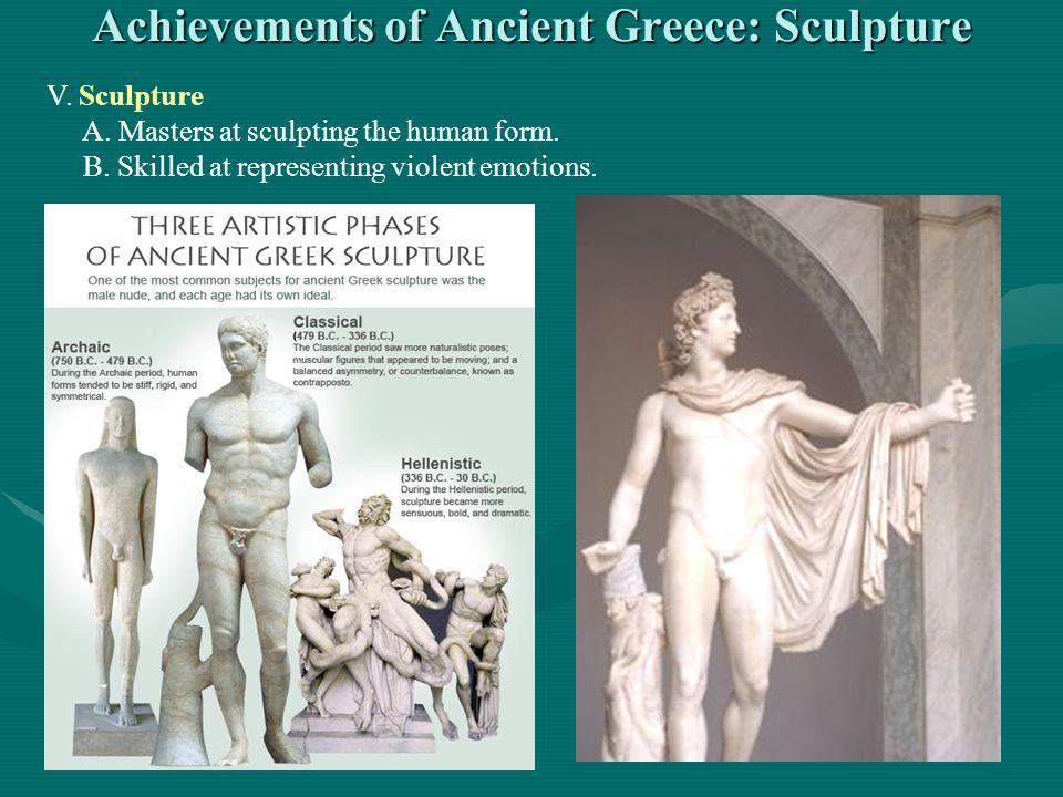 Achievements of Ancient Greece: Sculpture
