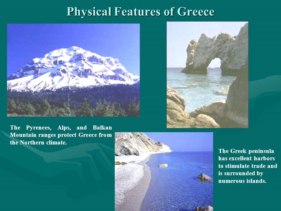 Physical Features of Greece