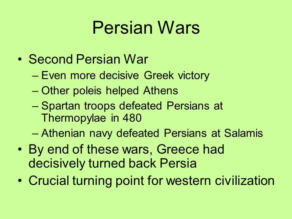 Persian Wars Second Persian War