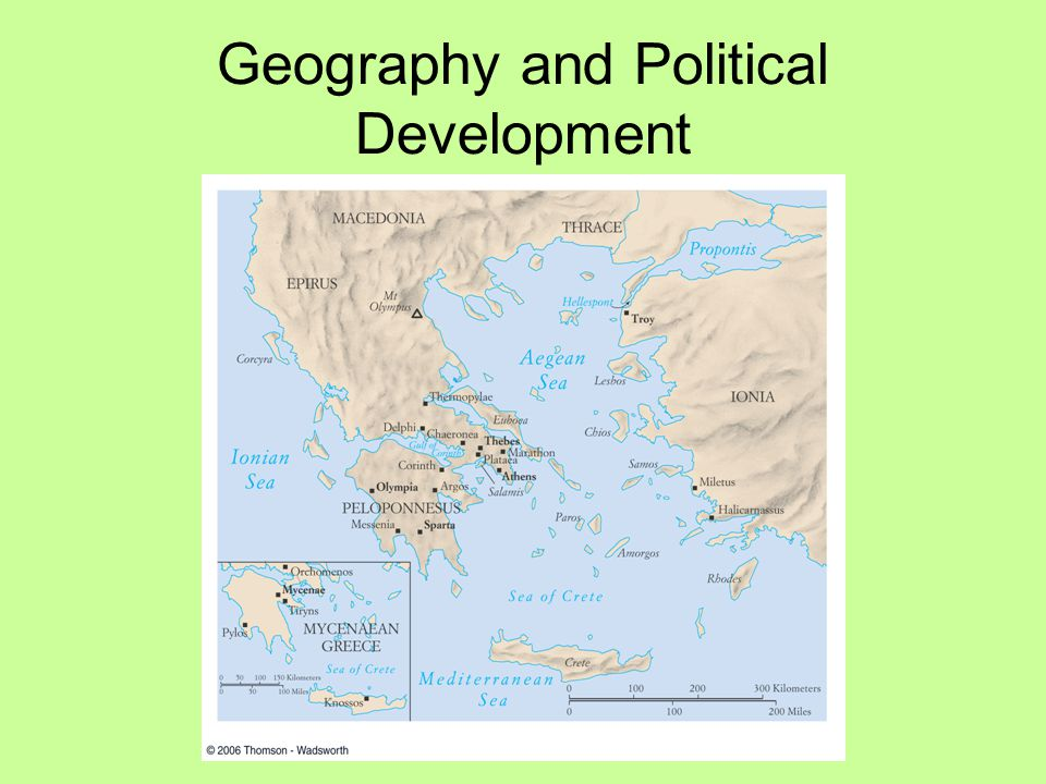 Geography and Political Development