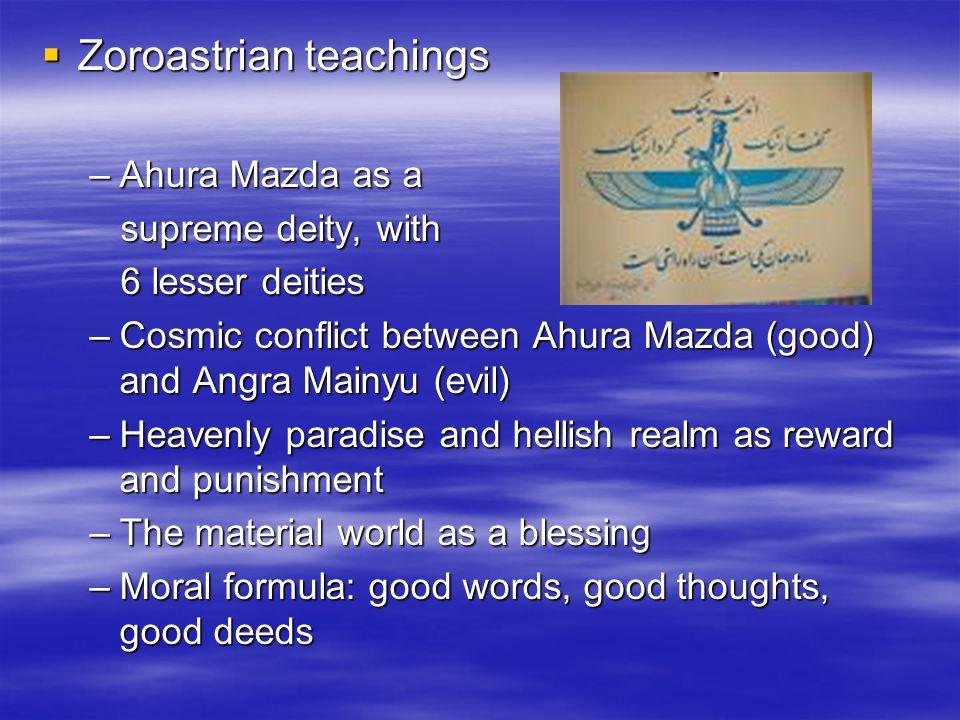 Zoroastrian teachings
