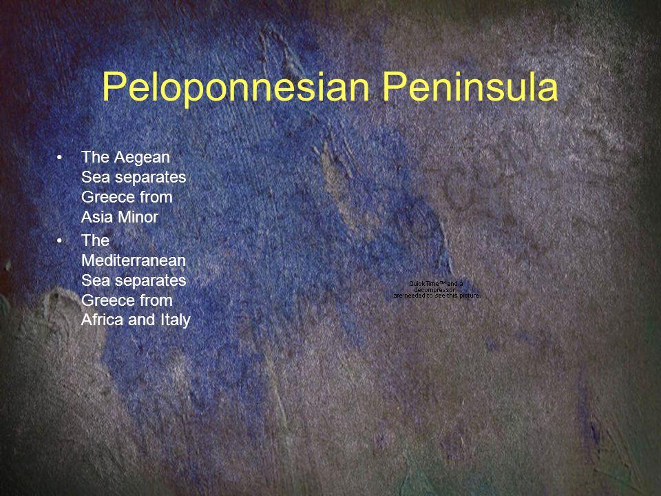 Peloponnesian Peninsula