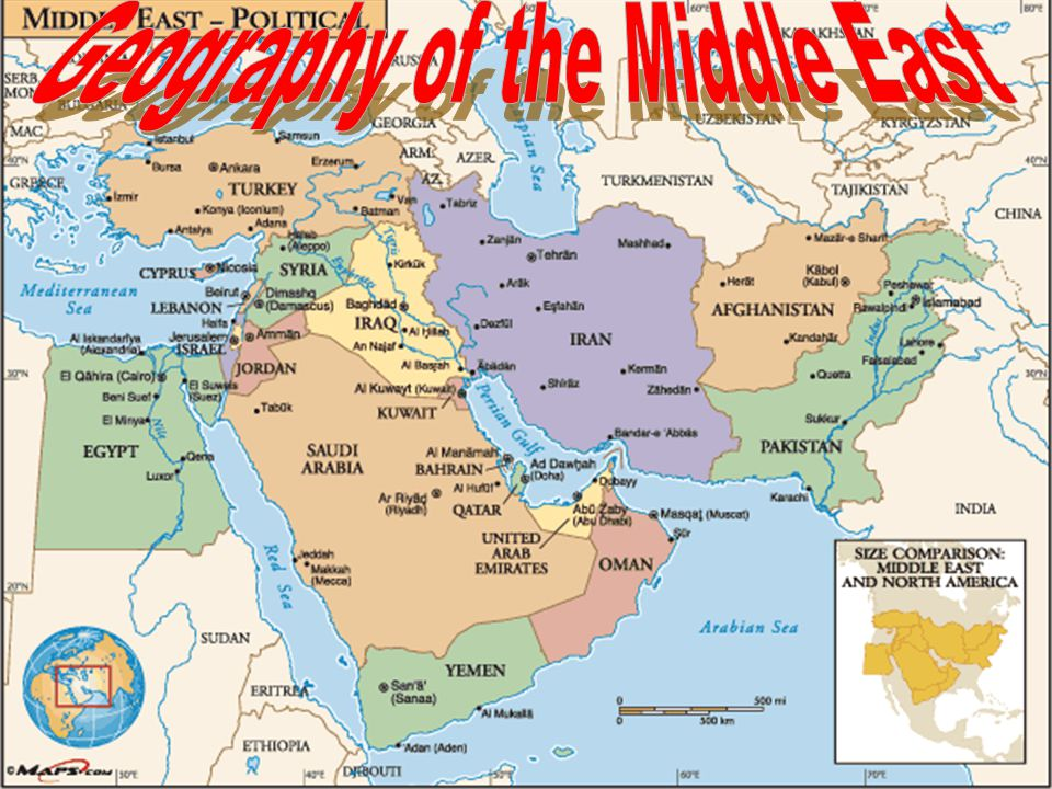 Geography of the Middle East