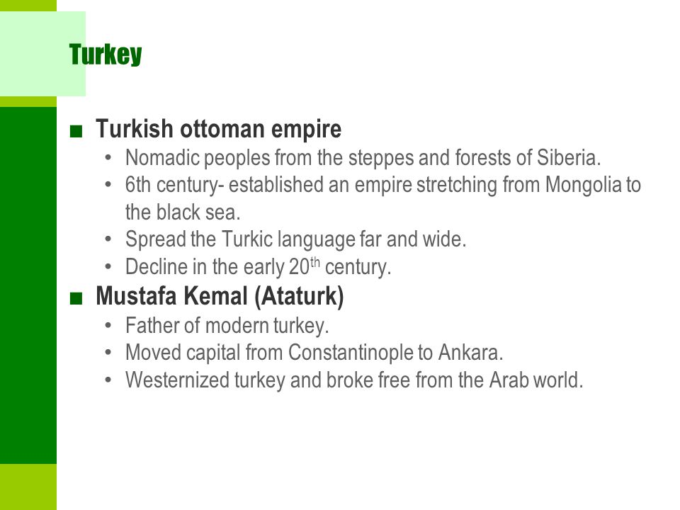 Turkish ottoman empire