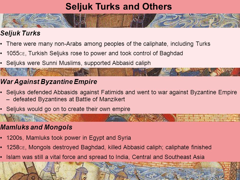 Seljuk Turks and Others