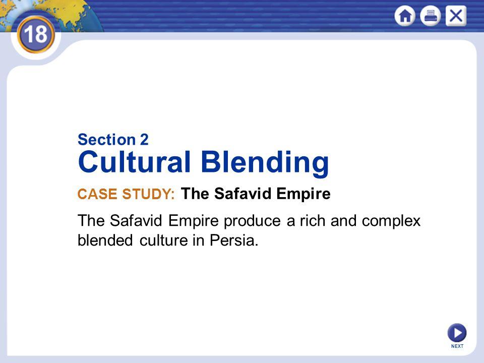 Cultural Blending Section 2