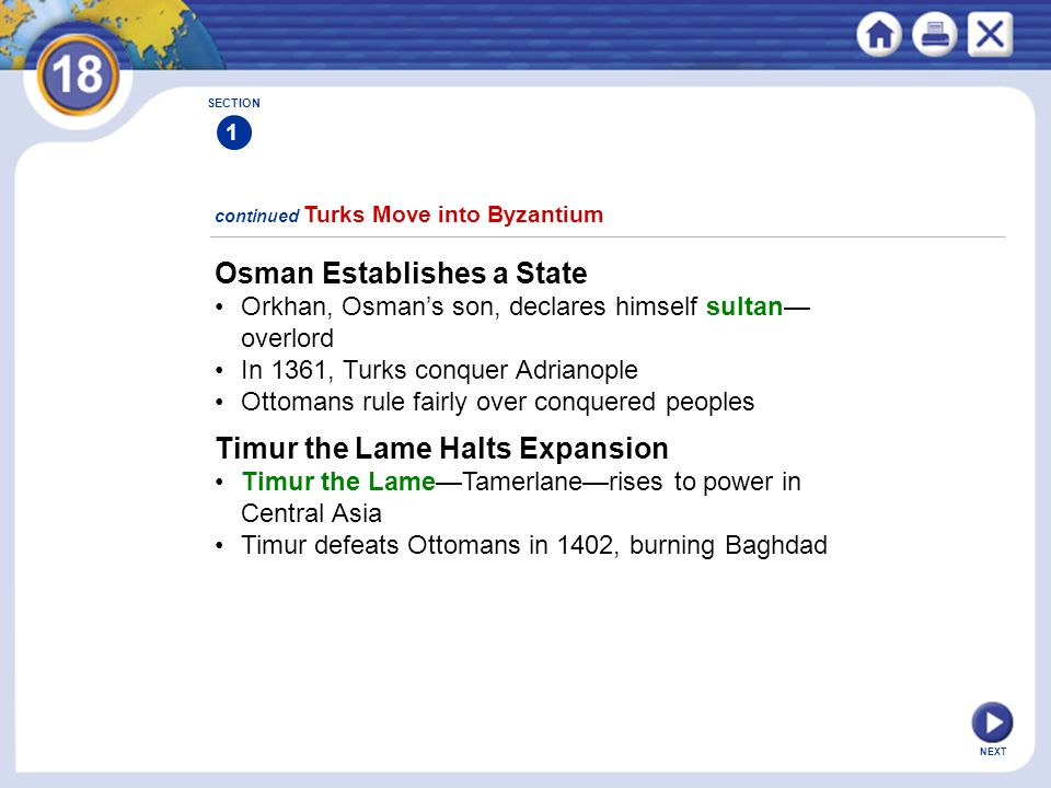 Osman Establishes a State