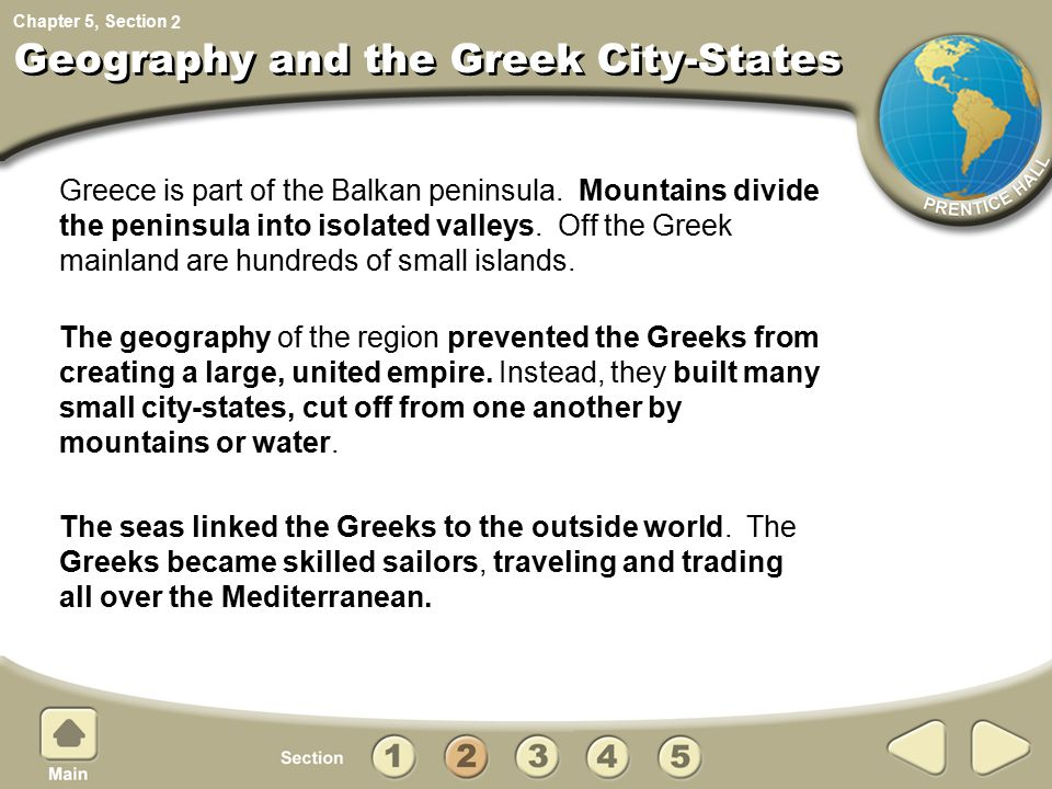 Geography and the Greek City-States
