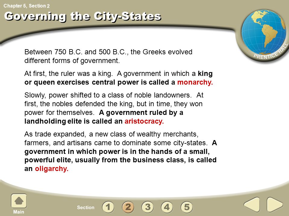 Governing the City-States