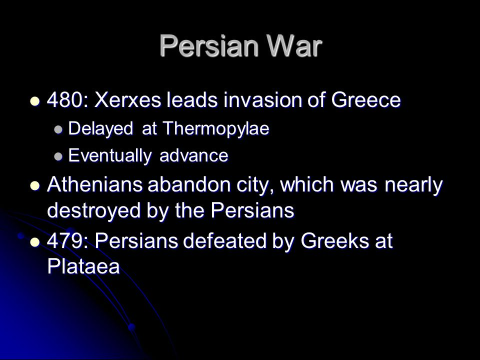 Persian War 480: Xerxes leads invasion of Greece
