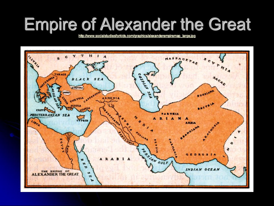 Empire of Alexander the Great http://www. socialstudiesforkids
