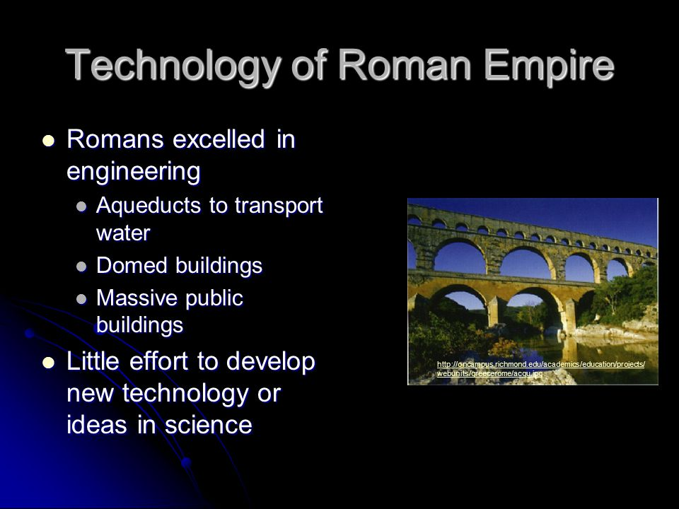 Technology of Roman Empire