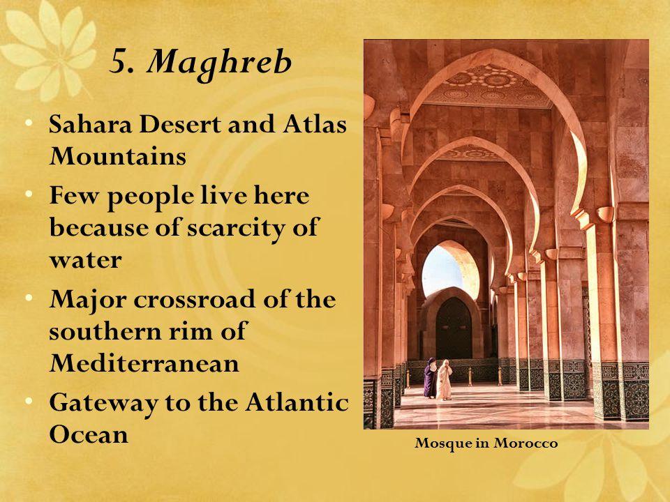 5. Maghreb Sahara Desert and Atlas Mountains